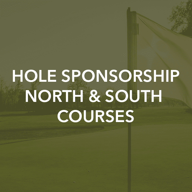 Hole Sponsorship North & South Courses